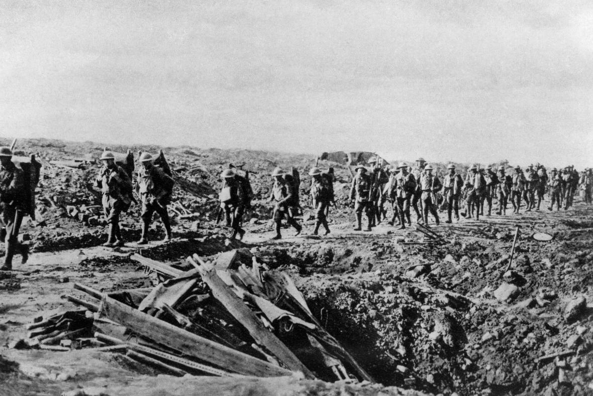 Boje u města Ypres (1917)