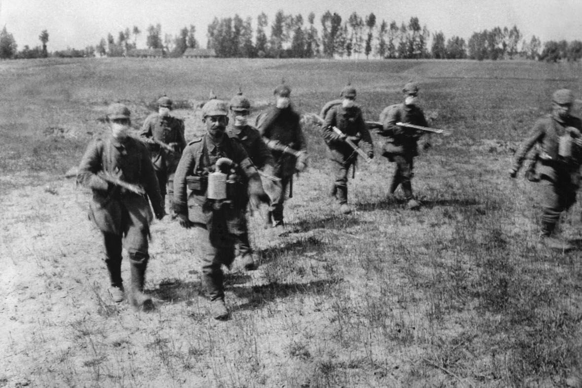 Boje u města Ypres (1914)