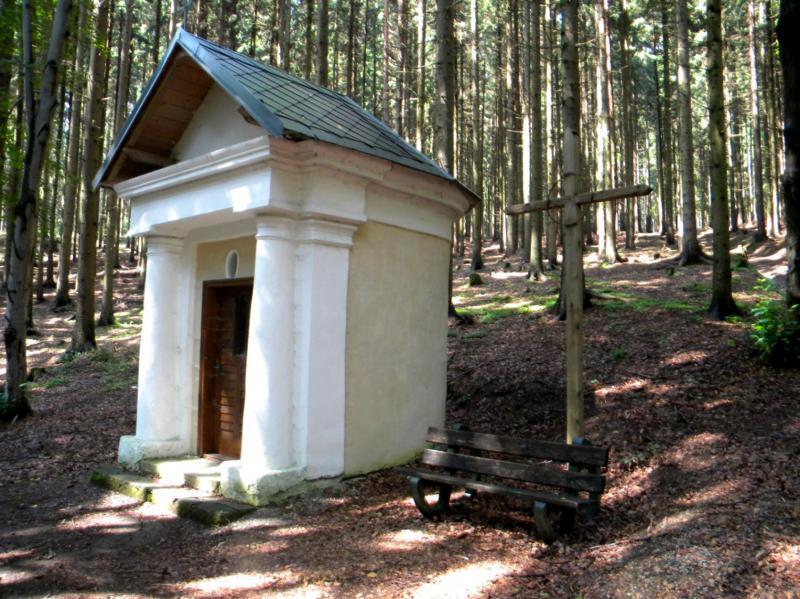 Kaple Panny Marie Střítežské v Pavlově
