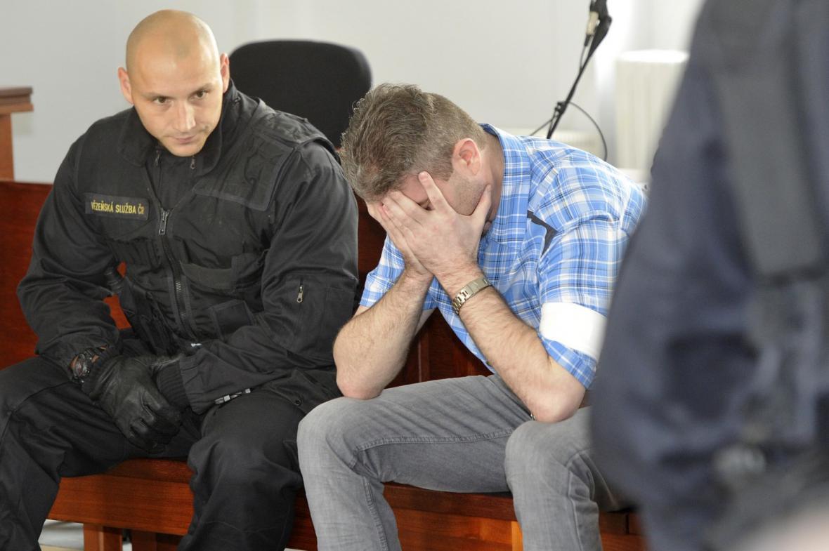 Miloš Babyka u soudu