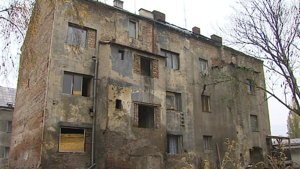 Zdevastovaný dům v Předlicích