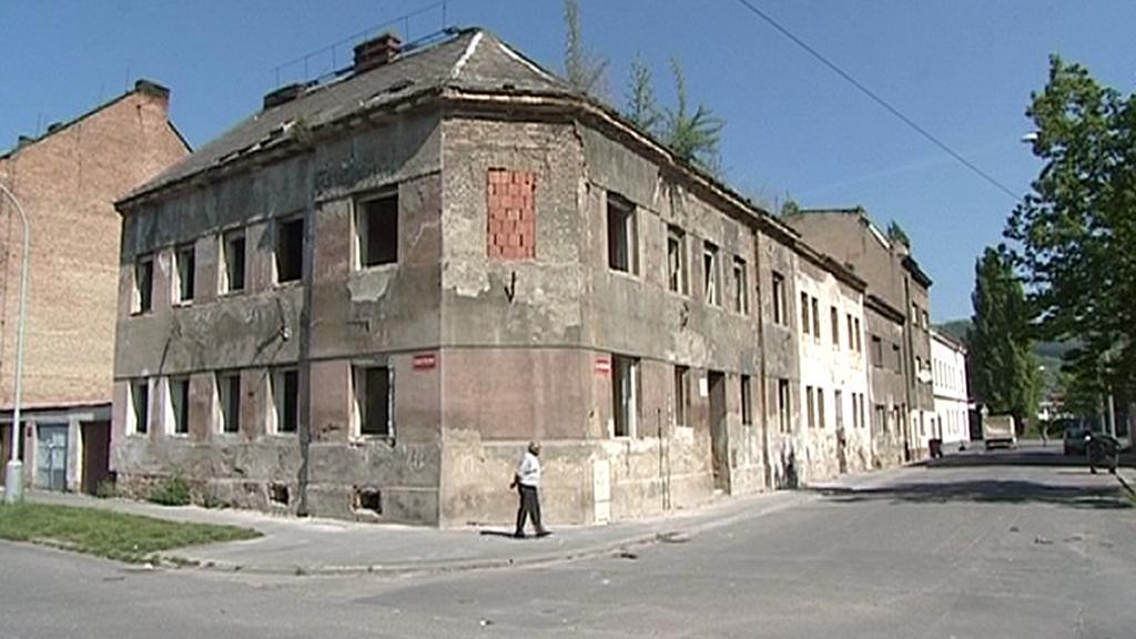 Vybydlený dům v Předlicích