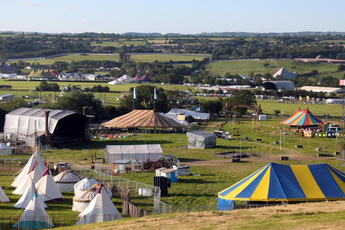 Festival v Glastonbury