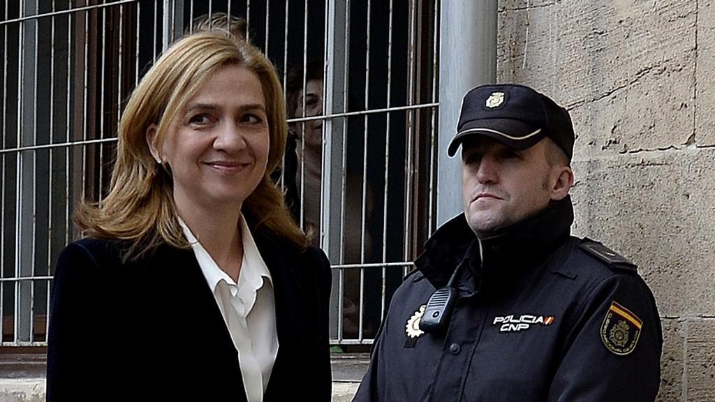 Španělská princezna Cristina míří k soudu