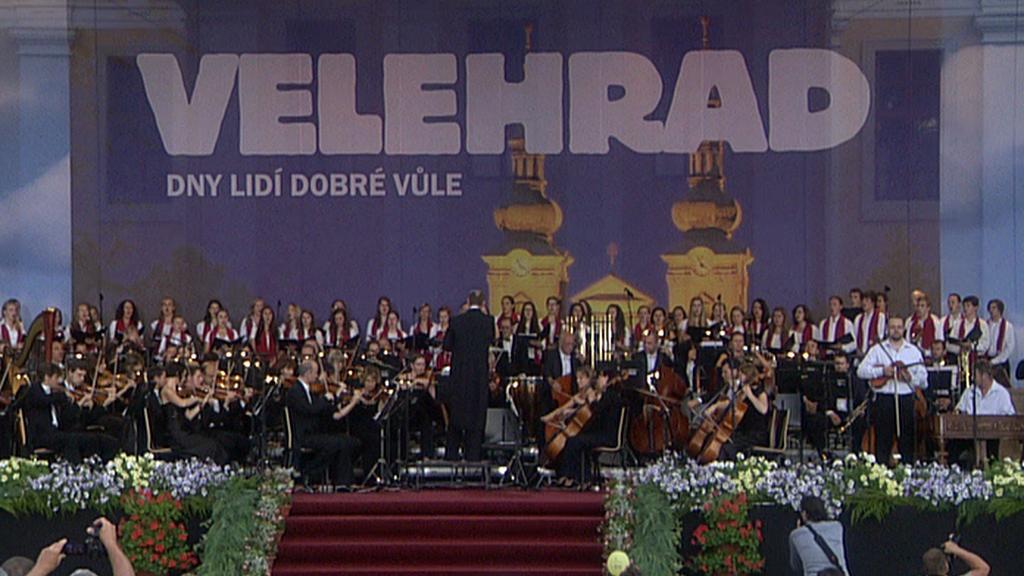 Charitativní koncert ve Velehradě