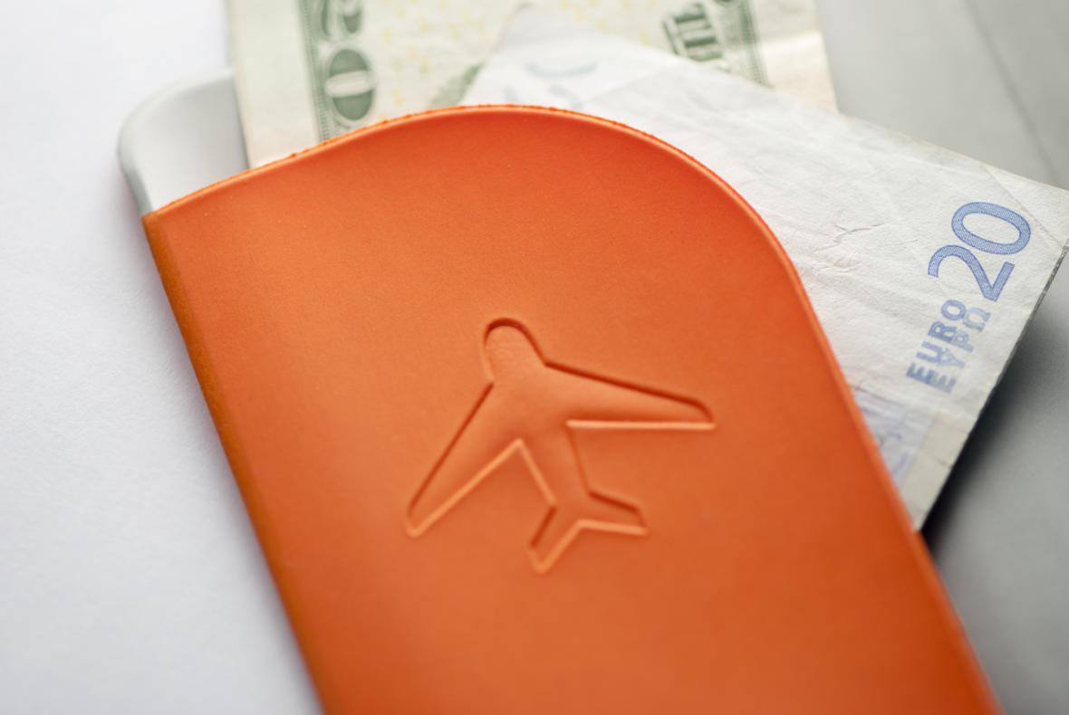 Cestovní doklady a peníze