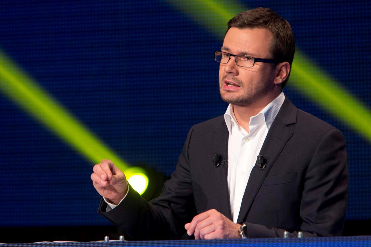 Lídr evropské kandidátky SZ Ondřej Liška