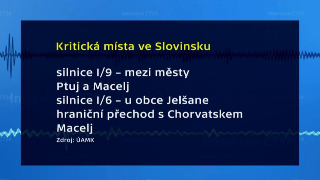 Kritická místa ve Slovinsku
