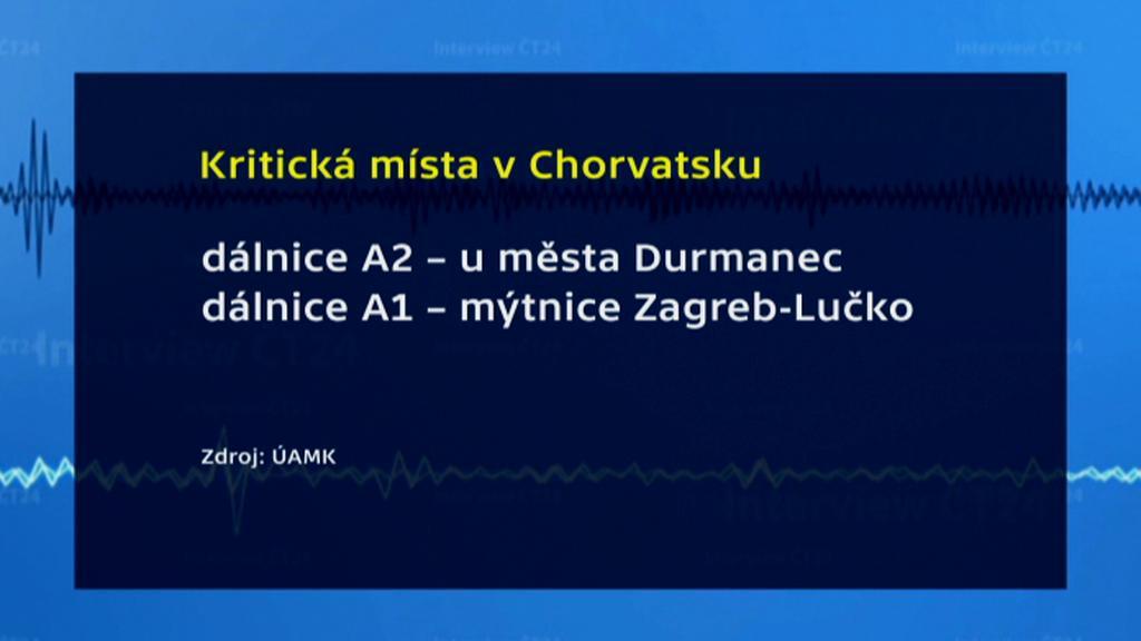 Kritická místa v Chorvatsku