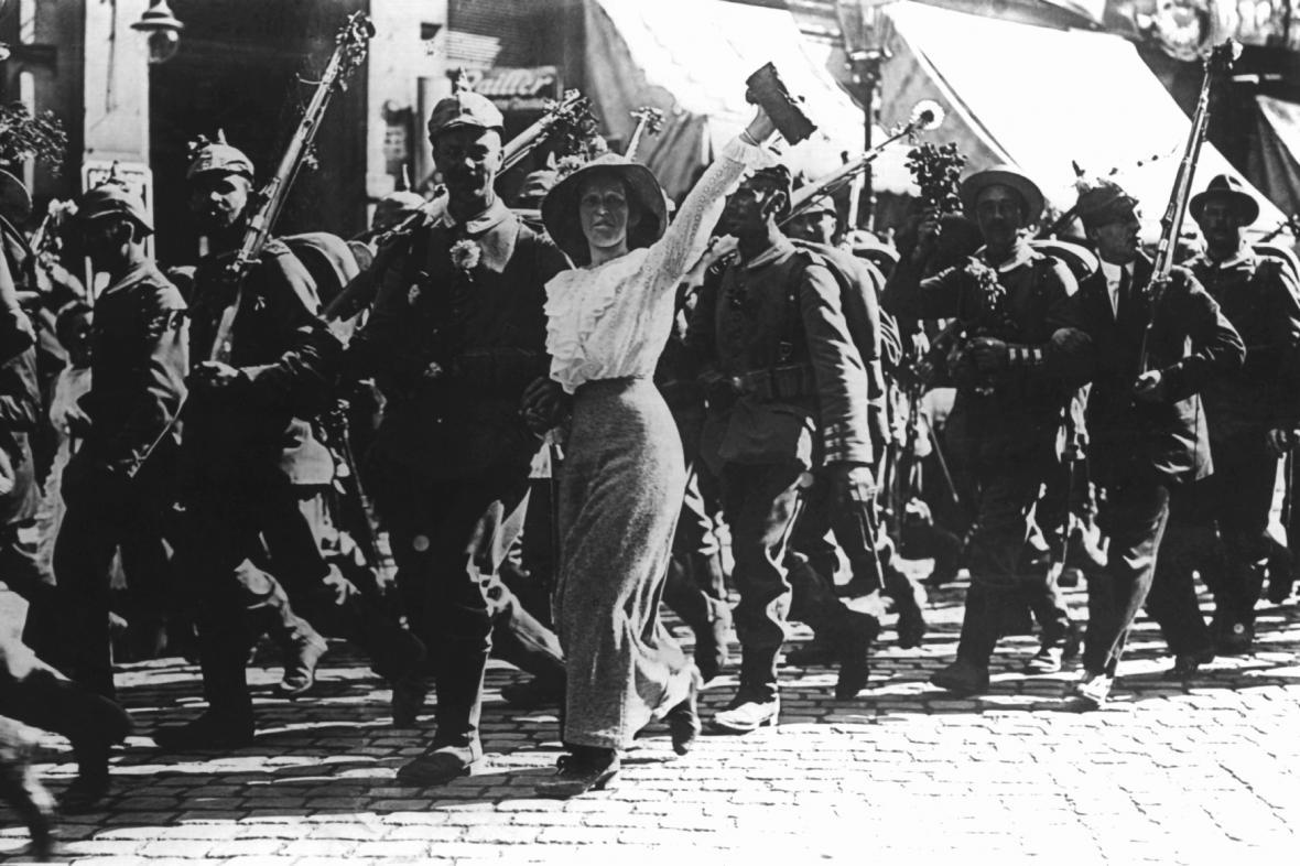 1. světová válka: Němci jdou do války