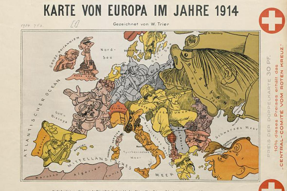 Evropa 1914