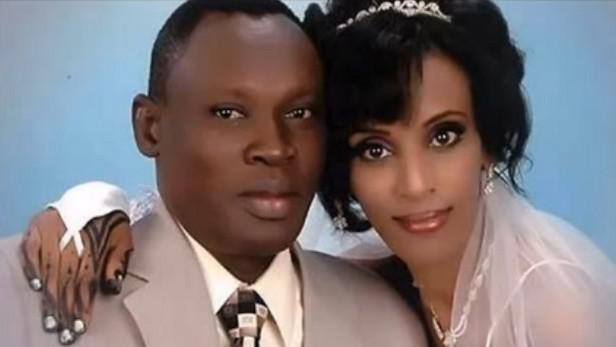 Meriam Ibrahim Ishagová s manželem
