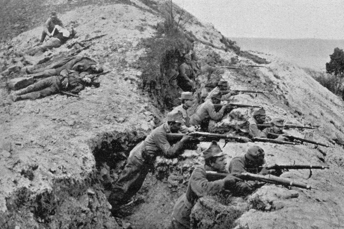 1. světová válka - boje na italské frontě