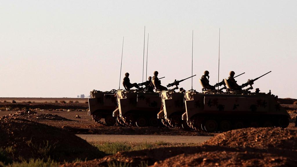 S mobilizací začalo i Jordánsko při společné hranici s Irákem