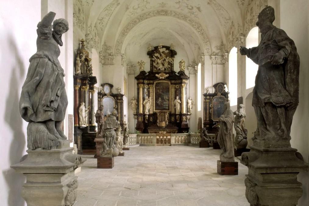 Zámek Mnichovo Hradiště – kaple sv. Anny