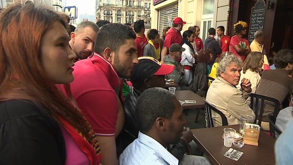 Fotbalová jednota vládne současné Belgii