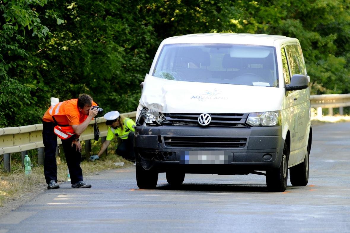 Nehoda u Ivaně na Brněnsku