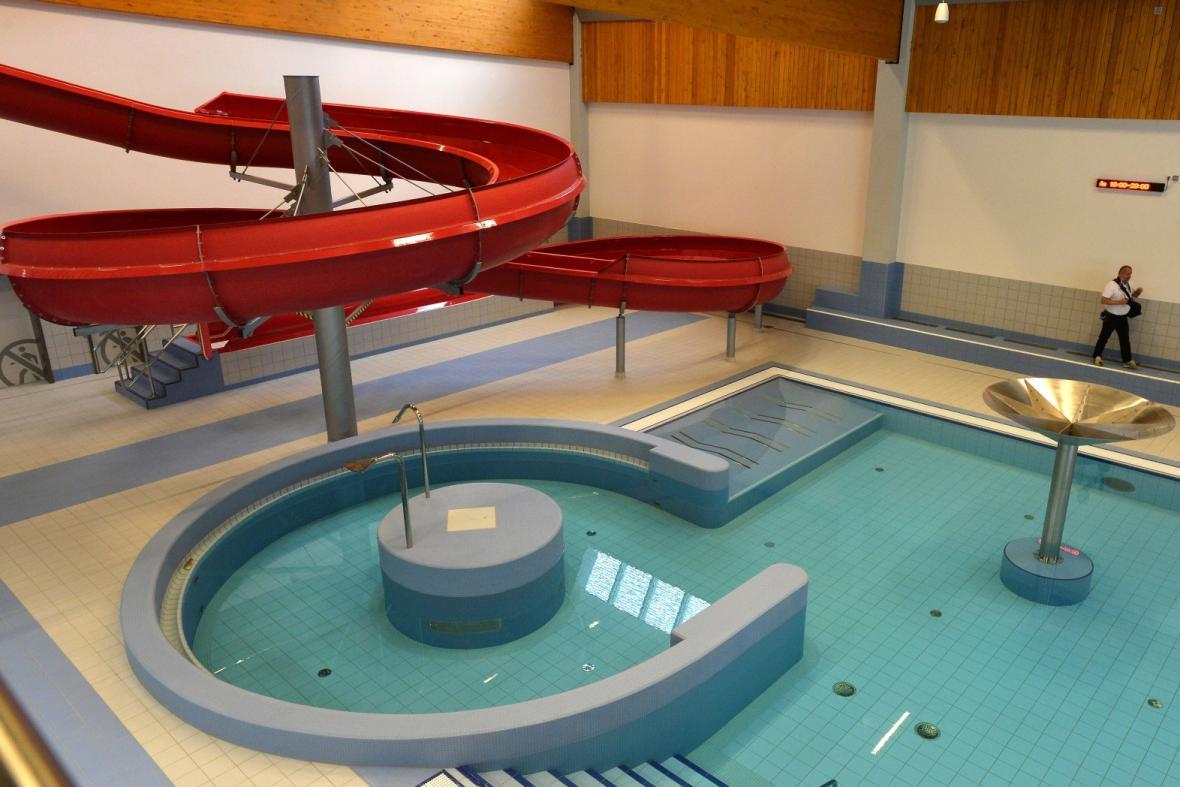Nový bazén na Jižním Městě