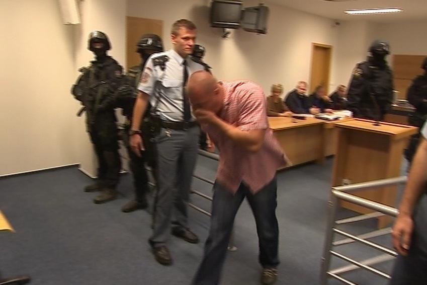 Vladimír Haviar vybíhal ze soudní síně kvůli údajné nevolnosti