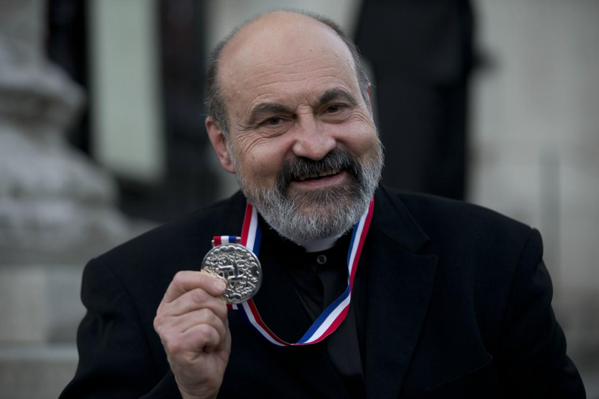 Tomáš Halík převzal Templetonovu cenu