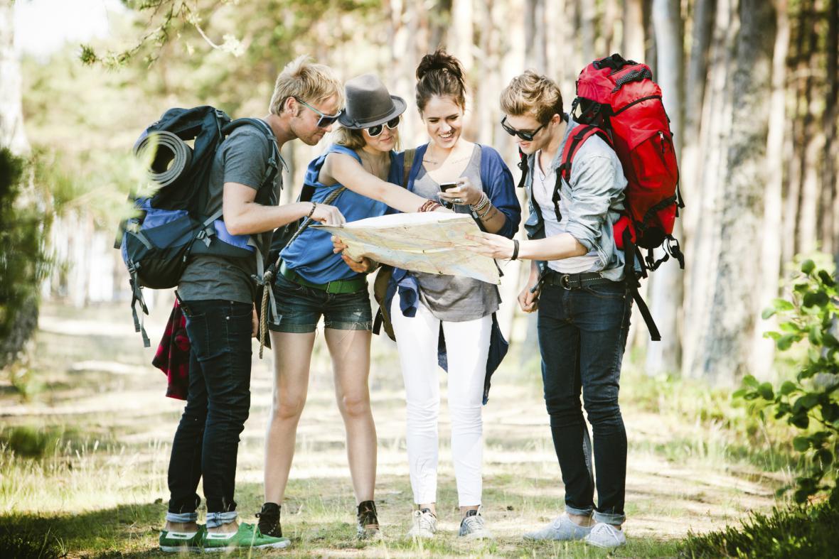Mladí cestovatelé