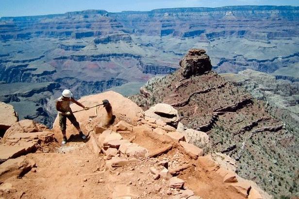 Dobrovolnictví v Grand Canyonu