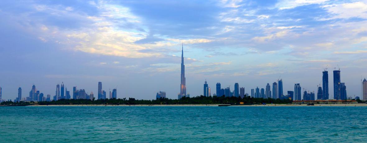 Dubajské panorama