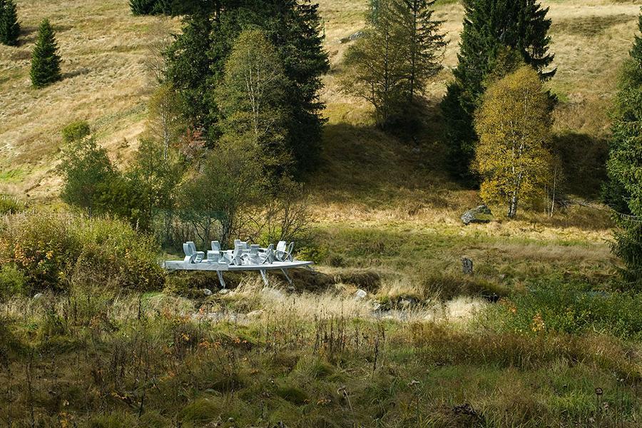Pokoj v krajině, Šumava (z výstavy Czechscape)