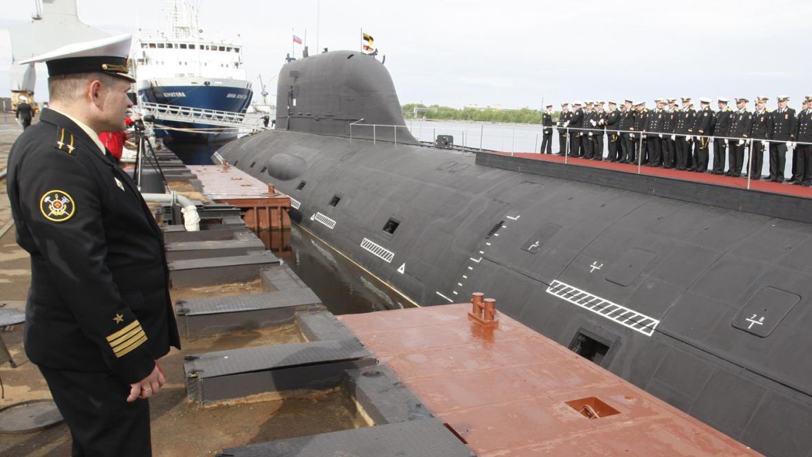 Ruská jaderná ponorka Severodvinsk