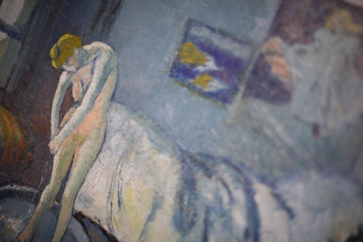 Pablo Picasso / Modrý pokoj