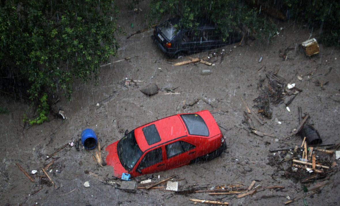 Masivní přívalové deště postihly zejména černomořské město Varna