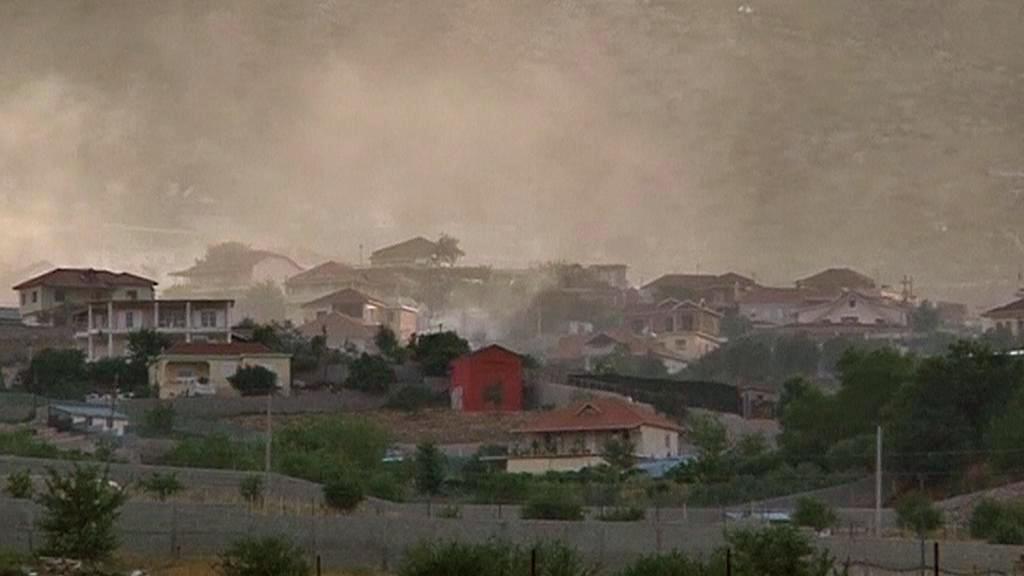 Albánská vesnice Lazarat