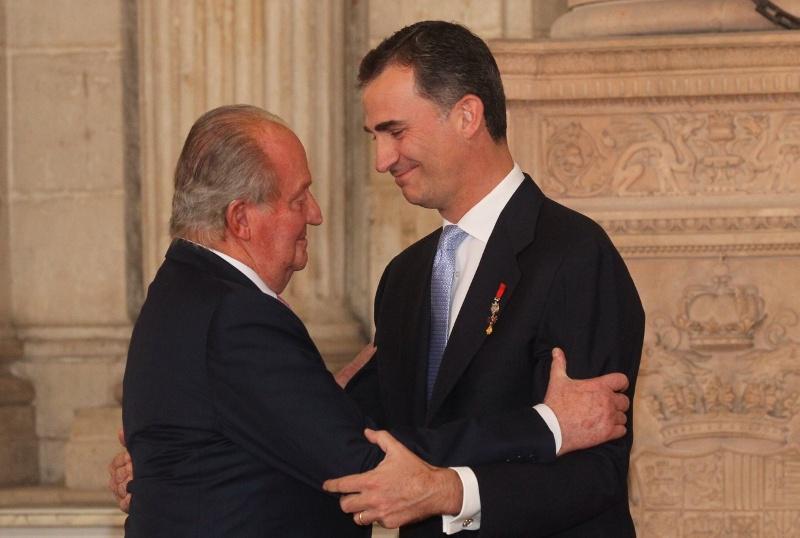 Abdikace španělského krále Juana Carlose I.