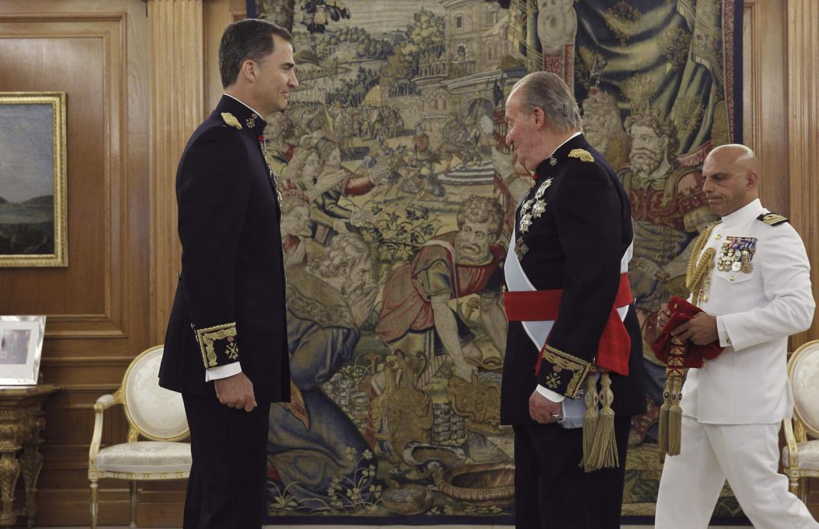 Korunovace španělského krále Filipa VI.