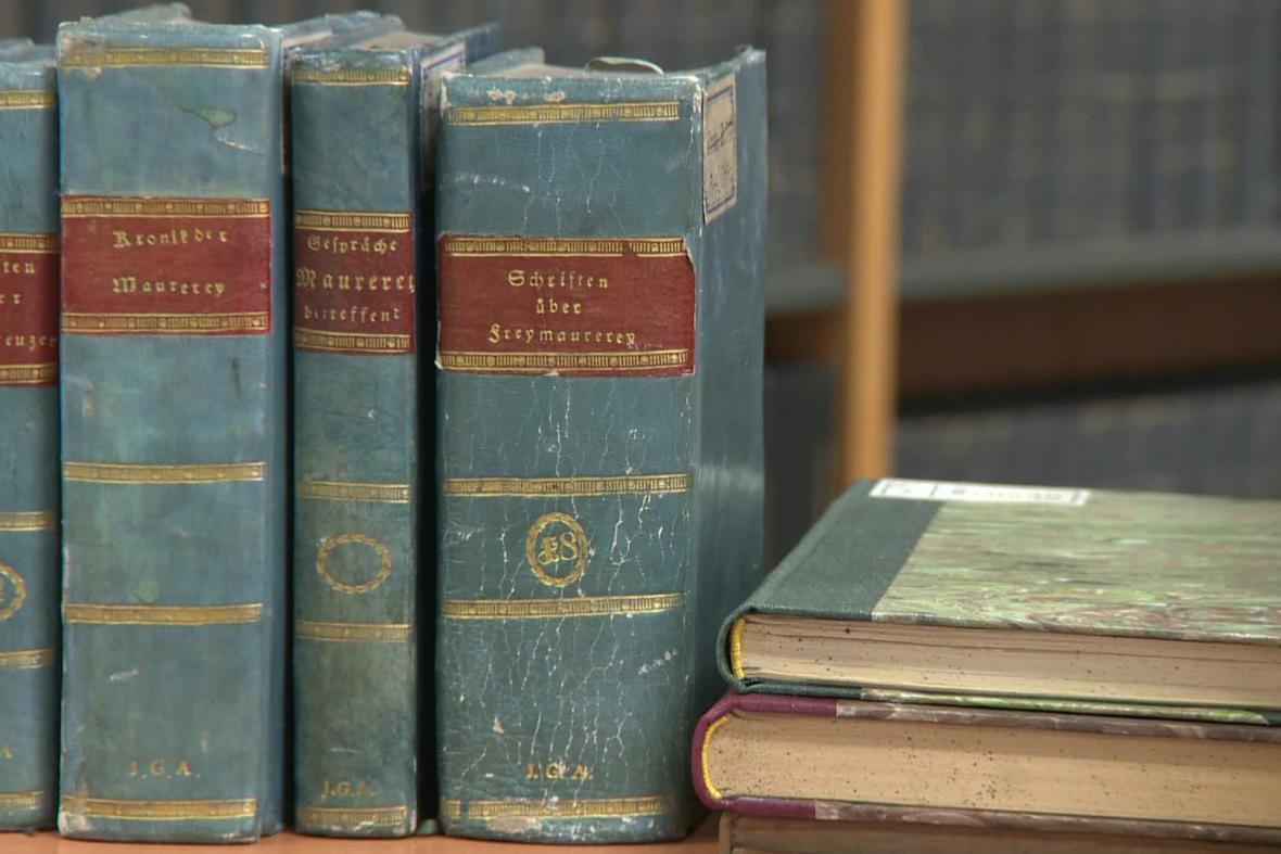 Zednářské knihy