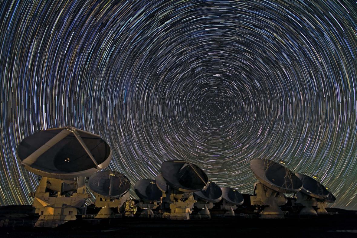 Chilská observatoř ALMA