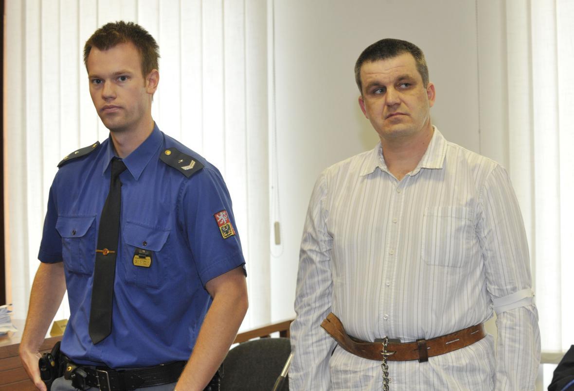 Roman Vaněk u soudu