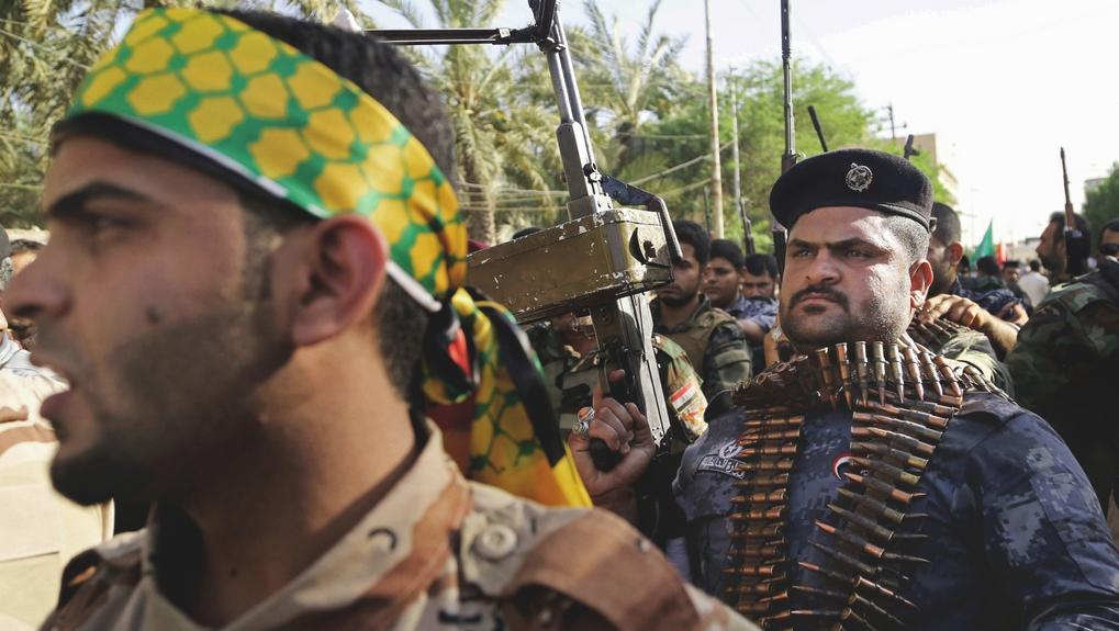 Šíitské jednotky se formují v jihoirácké Basře