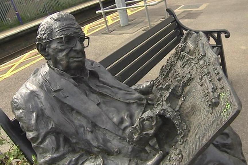 Wintonova socha na nádraží v Maidenheadu