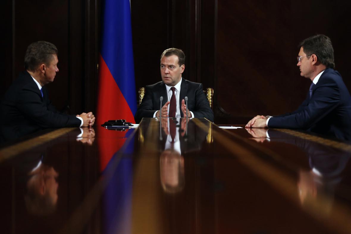 Jednání o plynu na Ukrajině