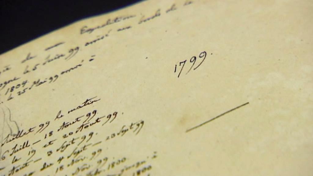 Humboldtovy cestovní deníky