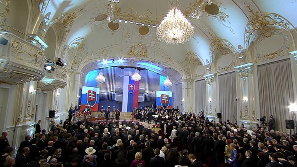 Inaugurace Andreje Kisky