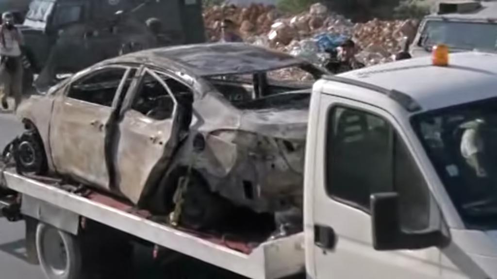 Vrak auta, do něhož možná nastoupili pohřešovaní izraelští mladíci