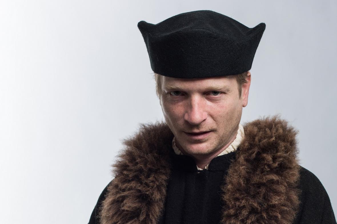 Matěj Hádek jako Jan Hus