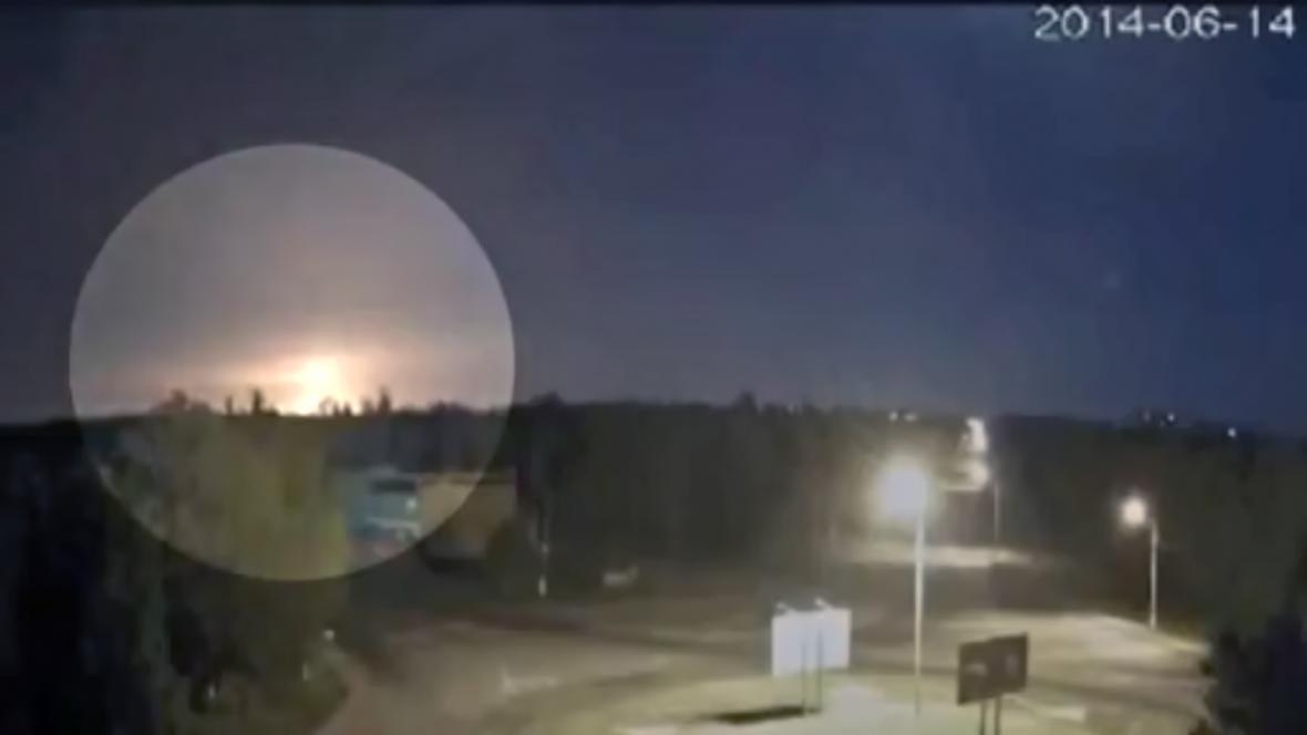 Sestřelení letadla u Luhansku