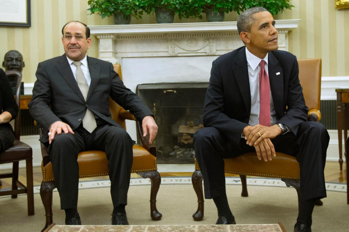 Núrí Málikí a Barack Obama