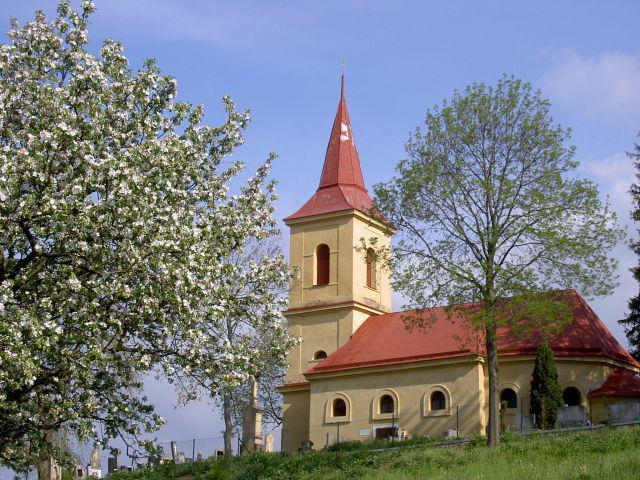 Poutní kostelík Byšičky