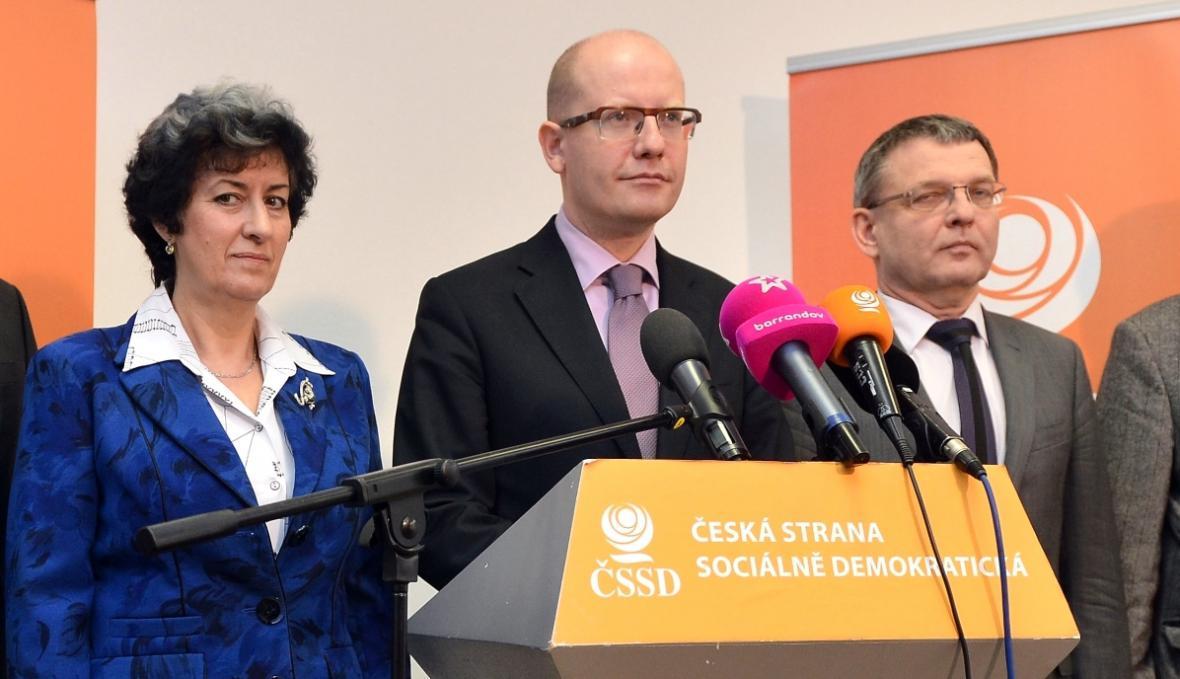 Vedení ČSSD