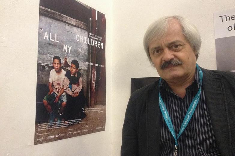 Režisér Ladislav Kaboš na festivalu v Jihlavě