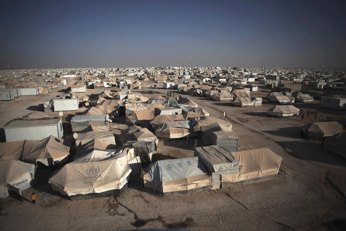 Uprchlický tábor v Jordánsku